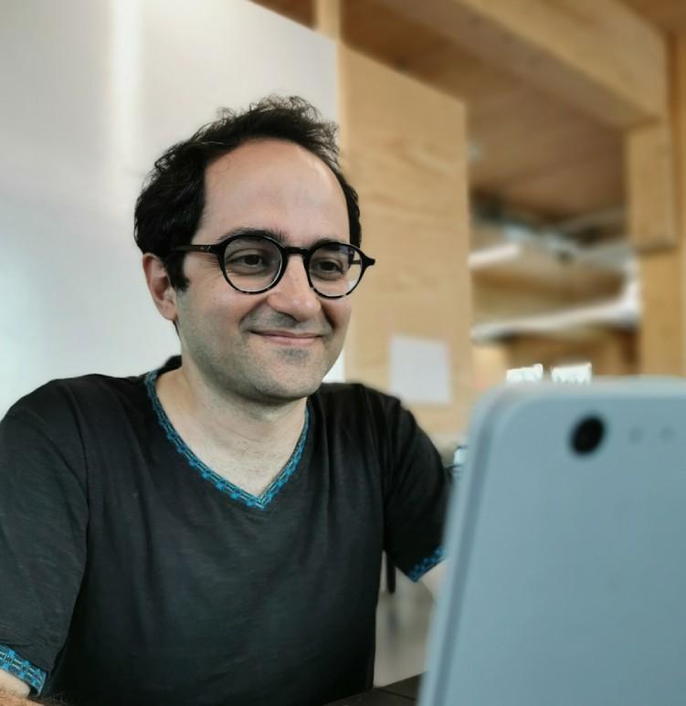 Omid Rad - Co-Founder / Backend Developer